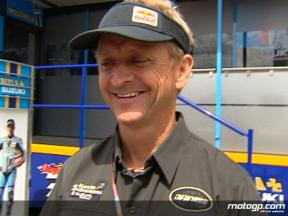 Schwantz on Spies´ debut and own Assen history
