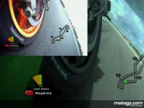 Hopkins and Pedrosa: OnBoard comparisons from Assen
