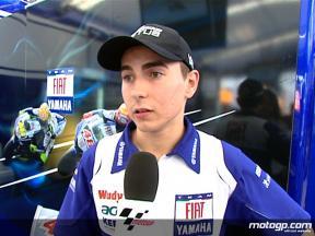 Lorenzo on Assen MotoGP debut