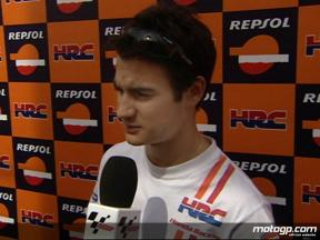 Pedrosa looking for Friday improvement