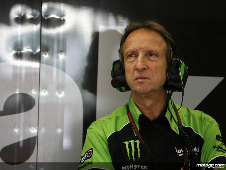 John Hopkins´crew chief at Kawasaki Racing, Fiorenzo Fanali