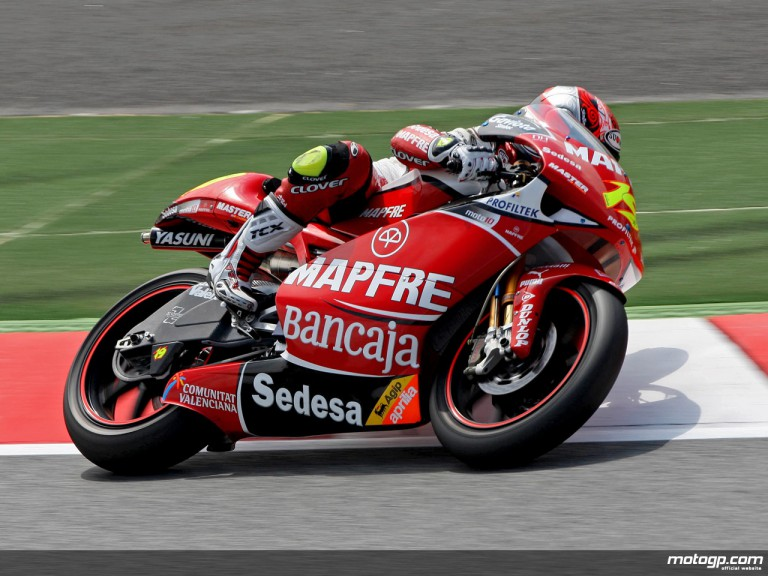 Alvaro Bautista in action (250cc)