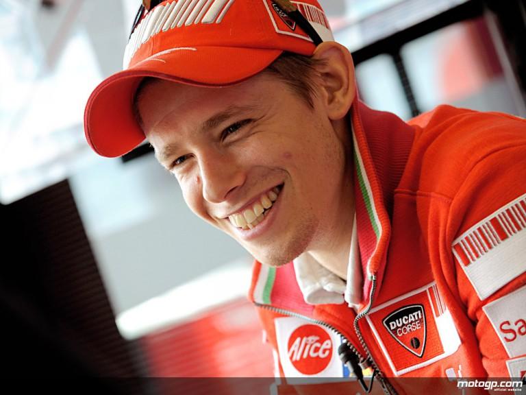 Ducati Marlboro rider Casey Stoner (MotoGP)