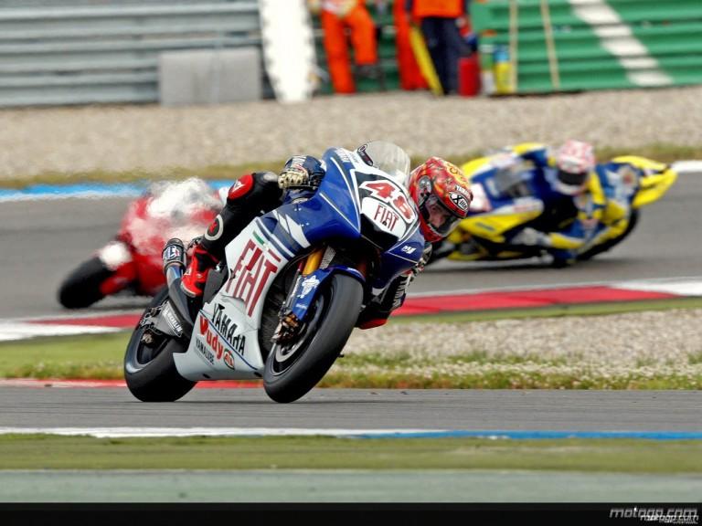 Jorge Lorenzo in action in Assen (MotoGP)