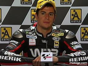 Simone Corsi interview after race in Assen