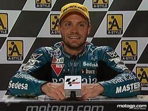 Gabor Talmacsi interview after race in Assen