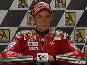 Casey Stoner interview after race in Assen
