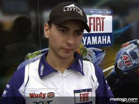 Lorenzo on positive weekend