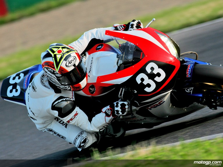 Takahashi's test accion in Suzuka (Suzuka 8 Hours)