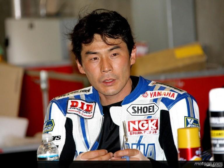 Japanese Yamaha tester Wataru Yoshikawa