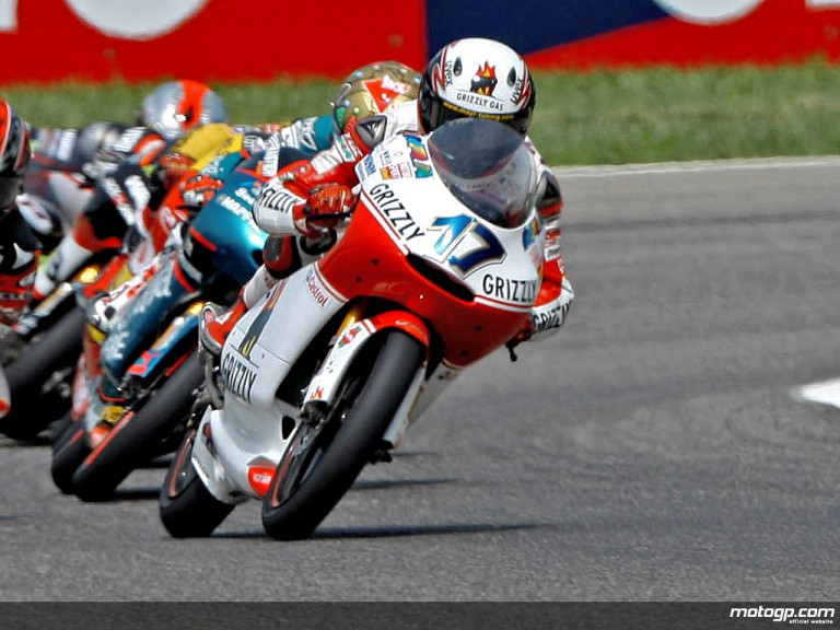 Stefan Bradl in action (125cc)
