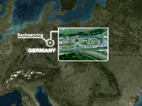 Sachsenring circuit close up