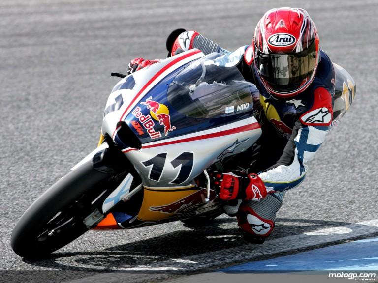 Red Bull MotoGP Rookie Niklas Ajo