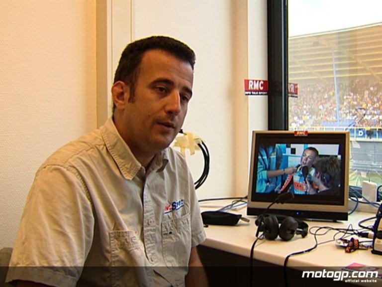 Rodolphe Coiscaud, commentateur pour RMC