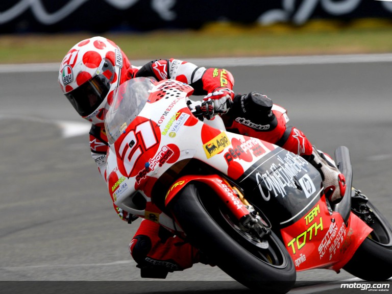 Hector Barberá in action (250cc)