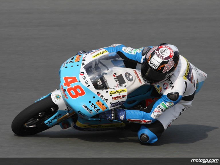 Swiss rider Sebastian Chesaux makes his GP debut at Sachsenring