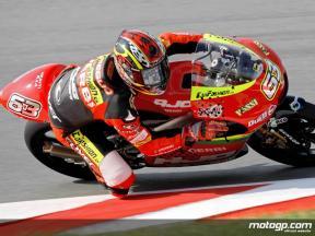 Sachsenring 2008 - Resumen de la carrera de 125cc