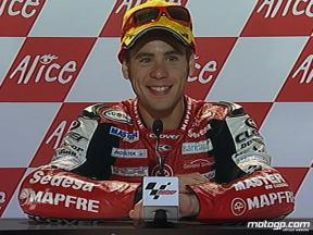 Alvaro Bautista interview after race in Sachsenring