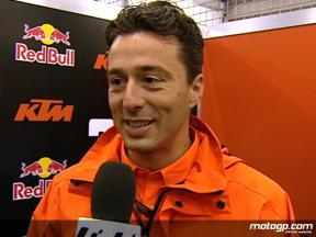 Francesco Guidotti on Red Bull KTM 250cc performances