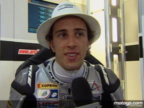 決勝レース:A.ドビツィオーソ インタビュー