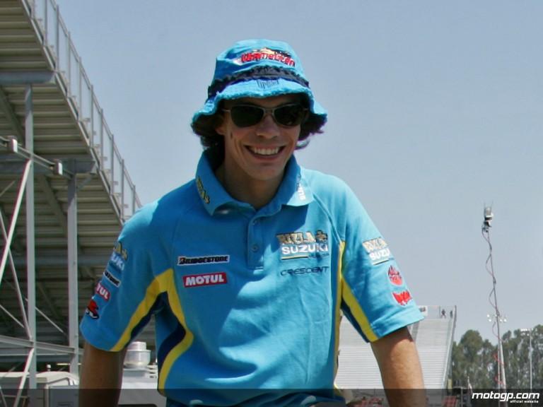 Rizla Suzuki rider Chris Vermeulen