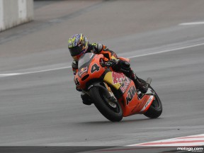 Kallio during Sachsenring race