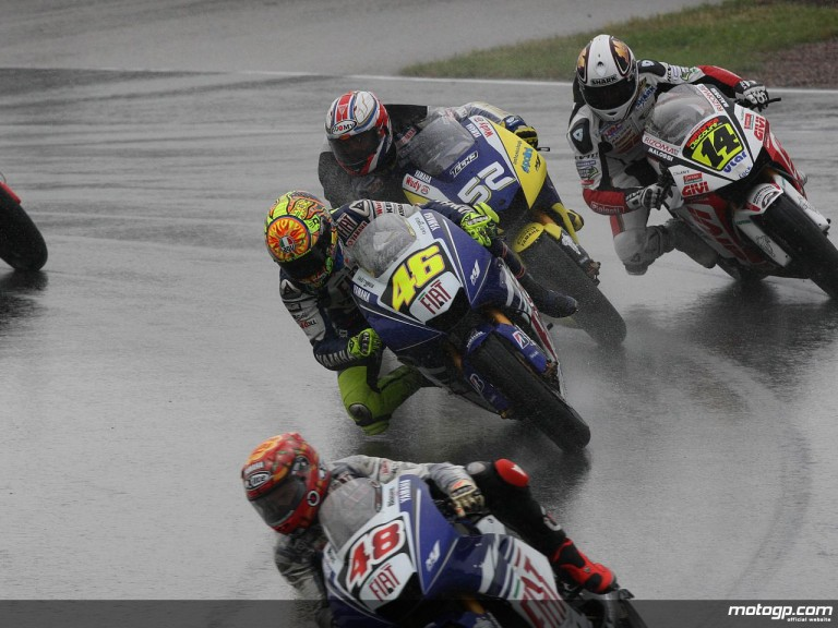 Valentino Rossi in Sachsenring