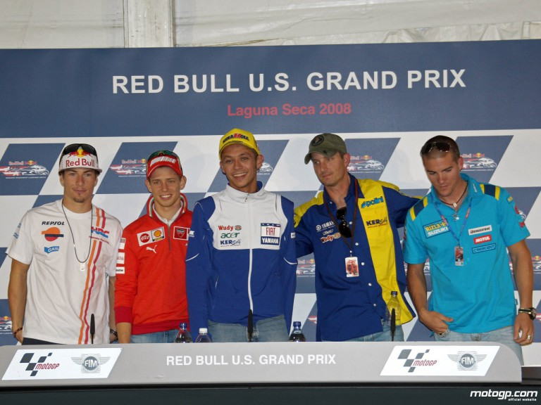 MotoGP riders prepared for an exciting weekend in the States