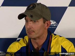 Colin Edwards on his contract renewal with Tech 3 Yamaha