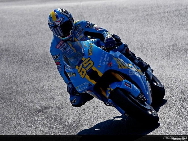 Loris Capirossi in action in Laguna Seca (MotoGP)