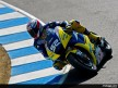 James Toseland in action in Laguna Seca (MotoGP)
