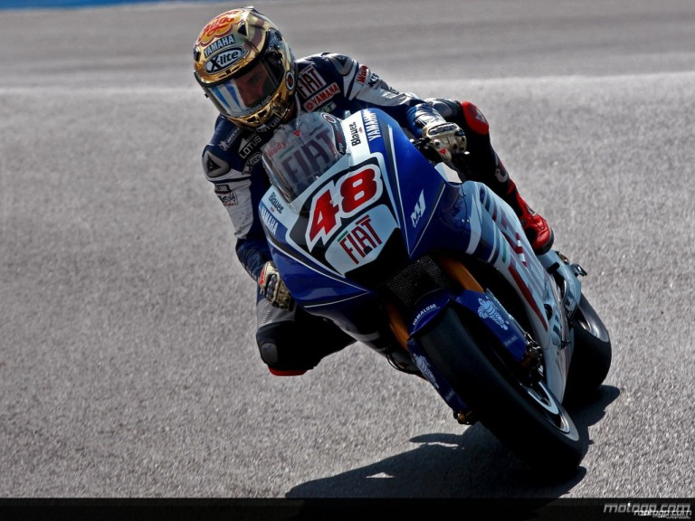 Jorge Lorenzo in action in Laguna Seca (MotoGP)