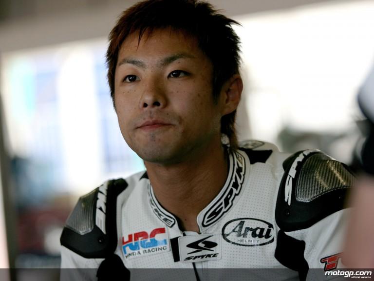 Yuki Takahashi testing in Suzuka (Suzuka 8 Hours)