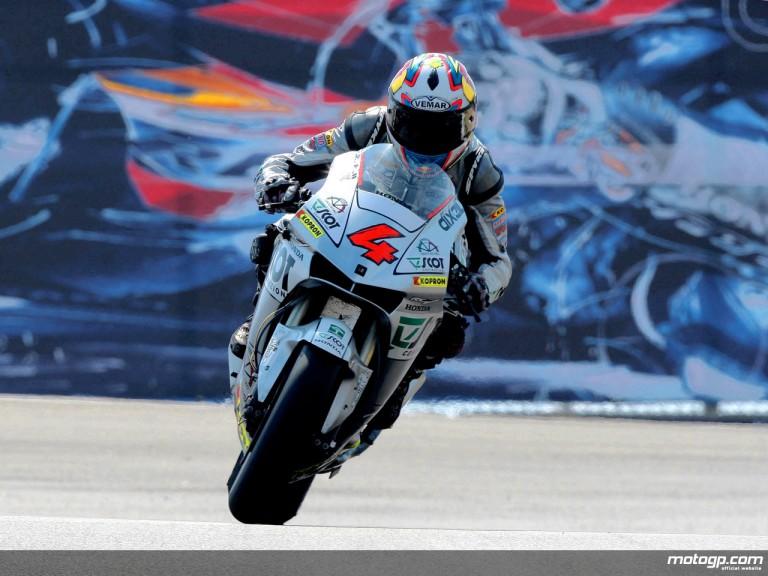 Andrea Dovizioso in actio in Laguna Seca (MotoGP)