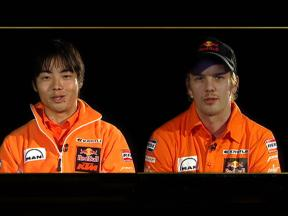 Kallio and Aoyama on life together with KTM