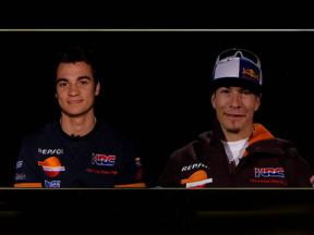 Head to head: Dani Pedrosa and Nicky Hayden