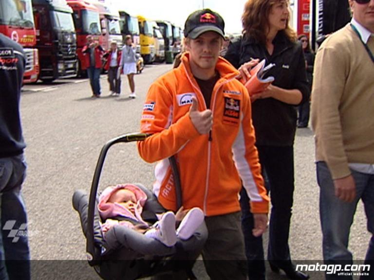Red BUll KTM 250cc rider Mika Kallio