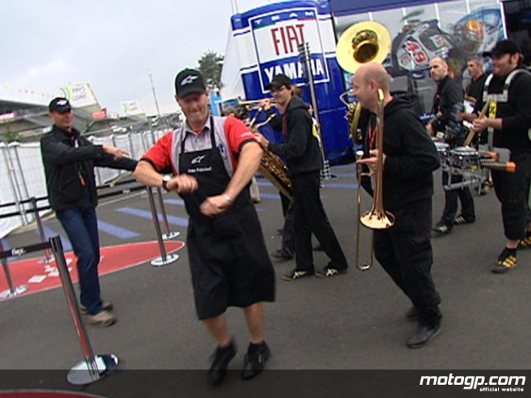 Le Mans MotoGP paddock atmosphere on the eve of the French Grand Prix