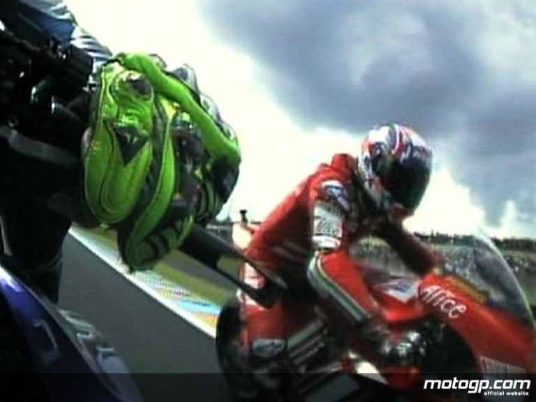 OnBoard in le Mans with Valentino Rossi