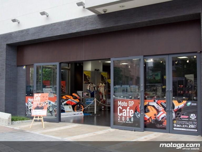 MotoGP Cafe in Utsunomiya