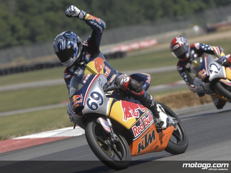 Hayden Gillim takes Mid-Ohio Red Bull AMA US Rookies victory