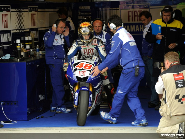 MotoGP Rookie Jorge Lorenzo ready to get on track with the Fiat Yamaha YZR-M1