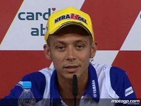 Rossi speaks ahead of Brno practices