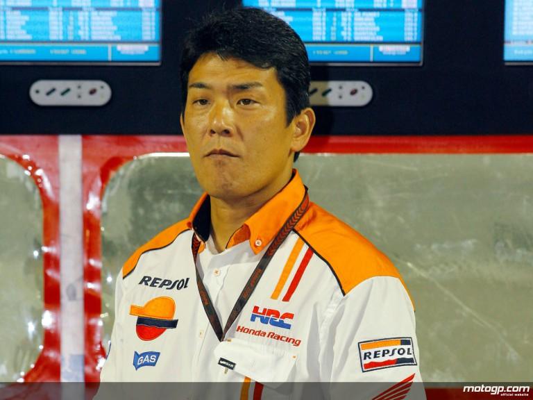 Repsol Honda Team Manager Kazuhika Yamano
