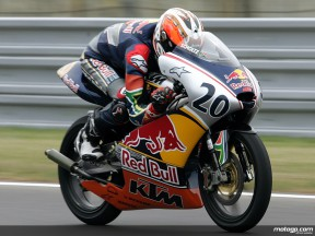 Red Bull MotoGP rookie Mathew Scholtz