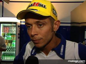 Rossi on new engine electronics