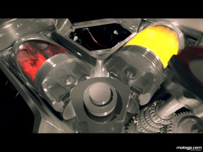 A peek inside the Ducati Desmosedici V4