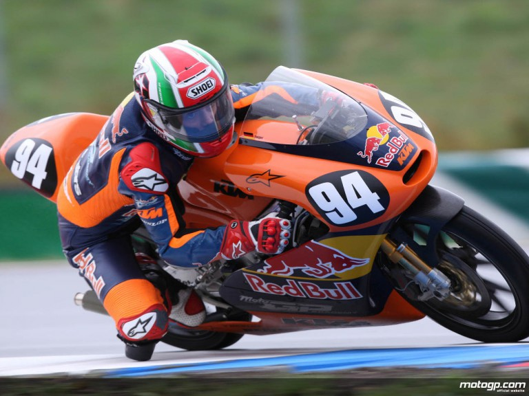 Red Bull MotoGP Academy rider Jonas Folger at the Czech GP in Brno