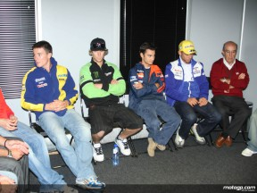 MotoGP riders gather in Brno