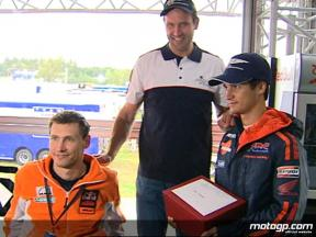 Pedrosa on Wings For Life role